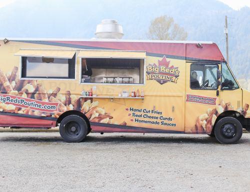Food Trucks at the Chilliwack Tulip Festival